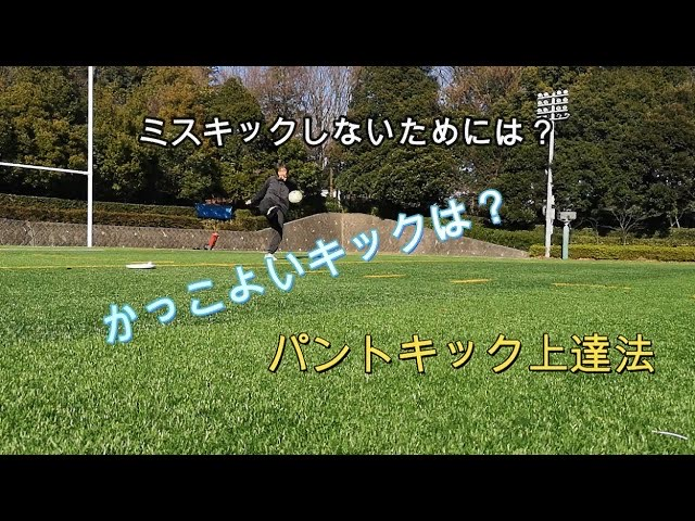 【人気動画】パントキック上達法(soccer puntkick points)