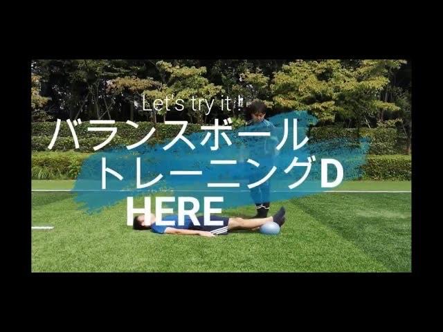 【バランスボール】トレーニングD exercise ball