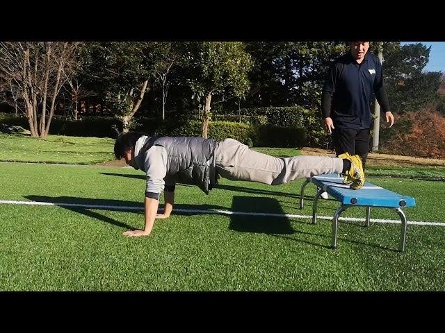 【THE 体幹】プッシュアップポーズとベンチ負荷で体幹部を鍛えてみよう!世田谷でパーソナル《tryit.pro》