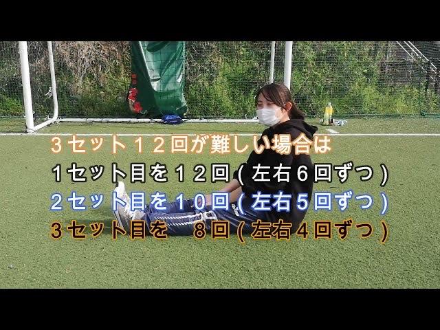 【HIIT コアトレーニング】夏にむけて体幹を引き締めるトレーニング!4種目のインターバルトレーニング