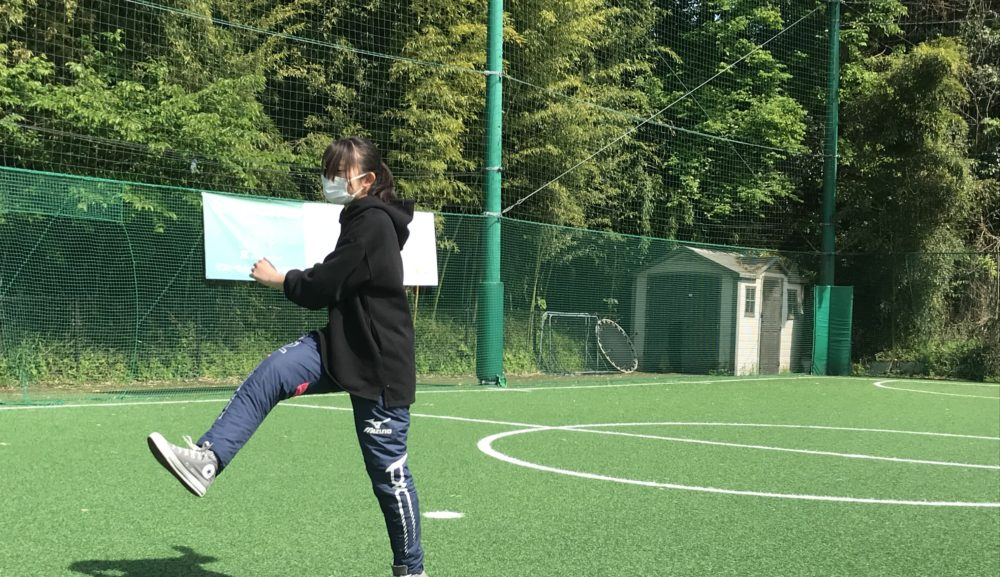 【ゴールキーパー GK】パントキック練習法② 助走をつけてキック練習してみよう!